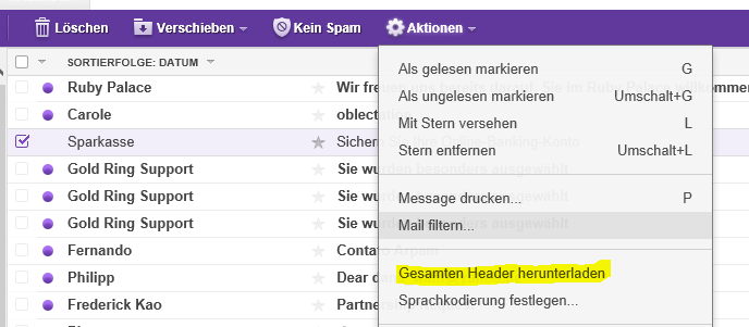 E-Mail AdreГџe Finden